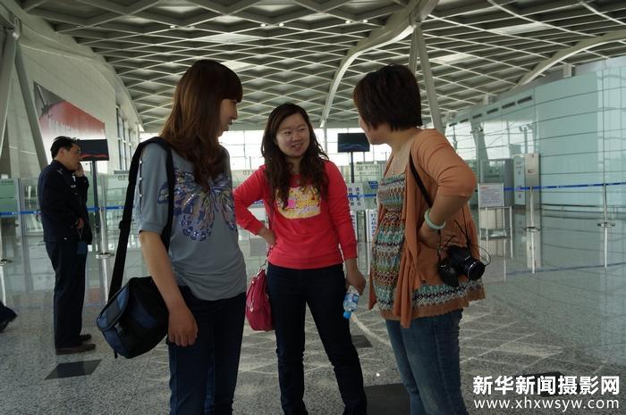 仲桂林率领义工队锦旺社区参观扬州飞机场19